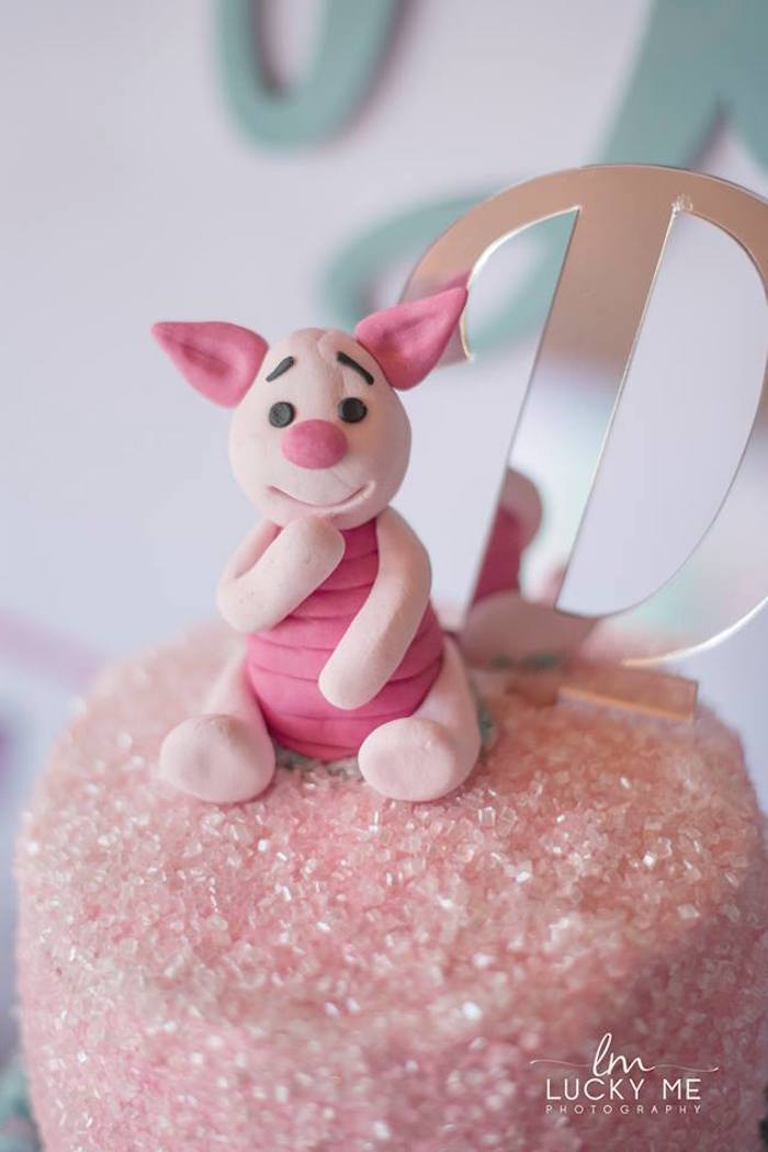 Piglet Cake Topper from a Pink Piglet Birthday Party on Kara's Party Ideas | KarasPartyIdeas.com (15)