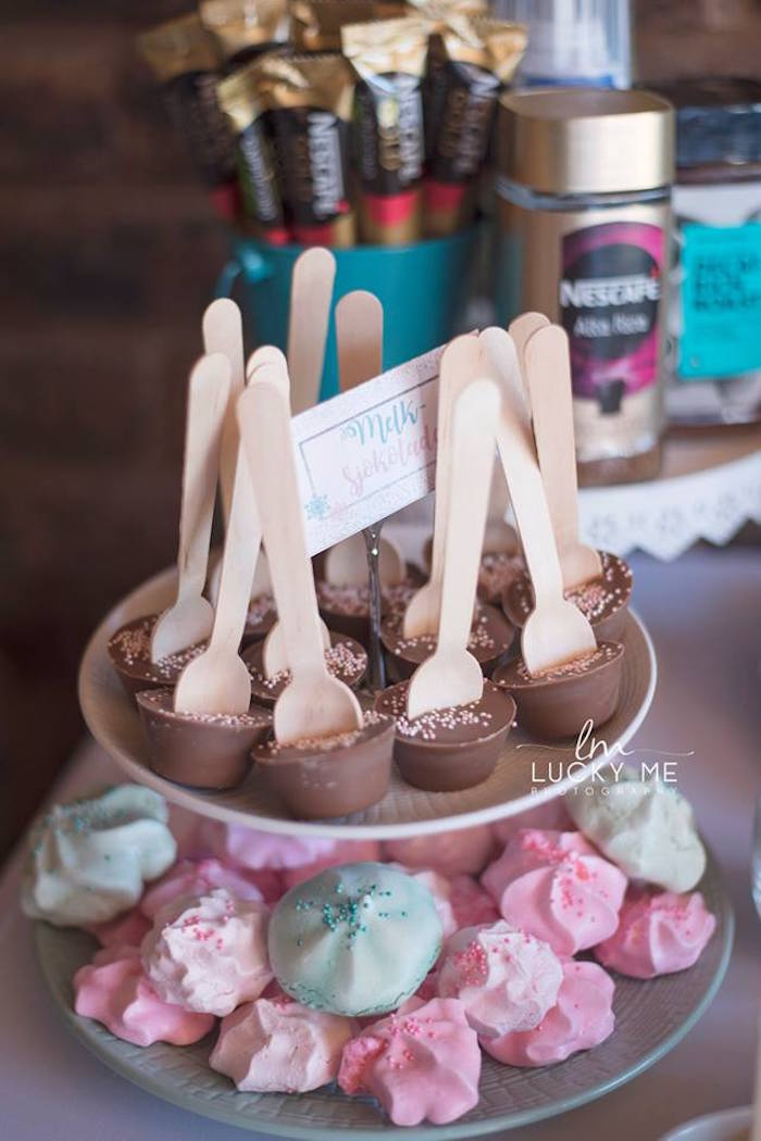 Chocolate Stir Sticks from a Pink Piglet Birthday Party on Kara's Party Ideas | KarasPartyIdeas.com (10)