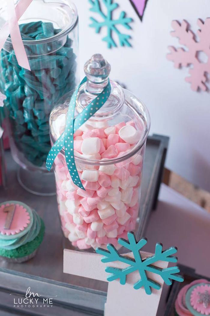 Apothecary Candy Jar from a Pink Piglet Birthday Party on Kara's Party Ideas | KarasPartyIdeas.com (27)