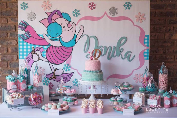 Pink Piglet Birthday Party on Kara's Party Ideas | KarasPartyIdeas.com (20)