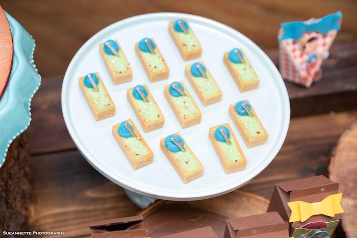 Pinocchio-inspired Tarts from a Pinocchio Birthday Party on Kara's Party Ideas   KarasPartyIdeas.com (16)