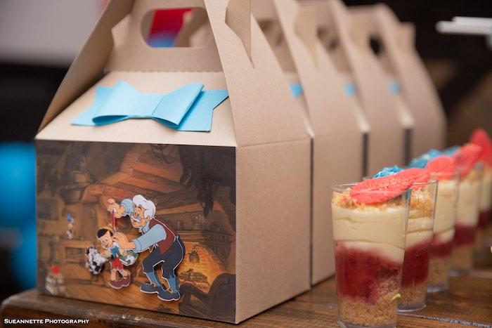 3-D Pinocchio Gable Favor Boxes from a Pinocchio Birthday Party on Kara's Party Ideas | KarasPartyIdeas.com (13)
