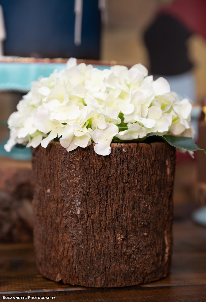 Log Blooms from a Pinocchio Birthday Party on Kara's Party Ideas | KarasPartyIdeas.com (27)
