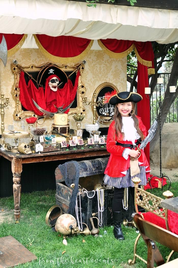 Pirates of the Caribbean Birthday Party on Kara's Party Ideas | KarasPartyIdeas.com (11)