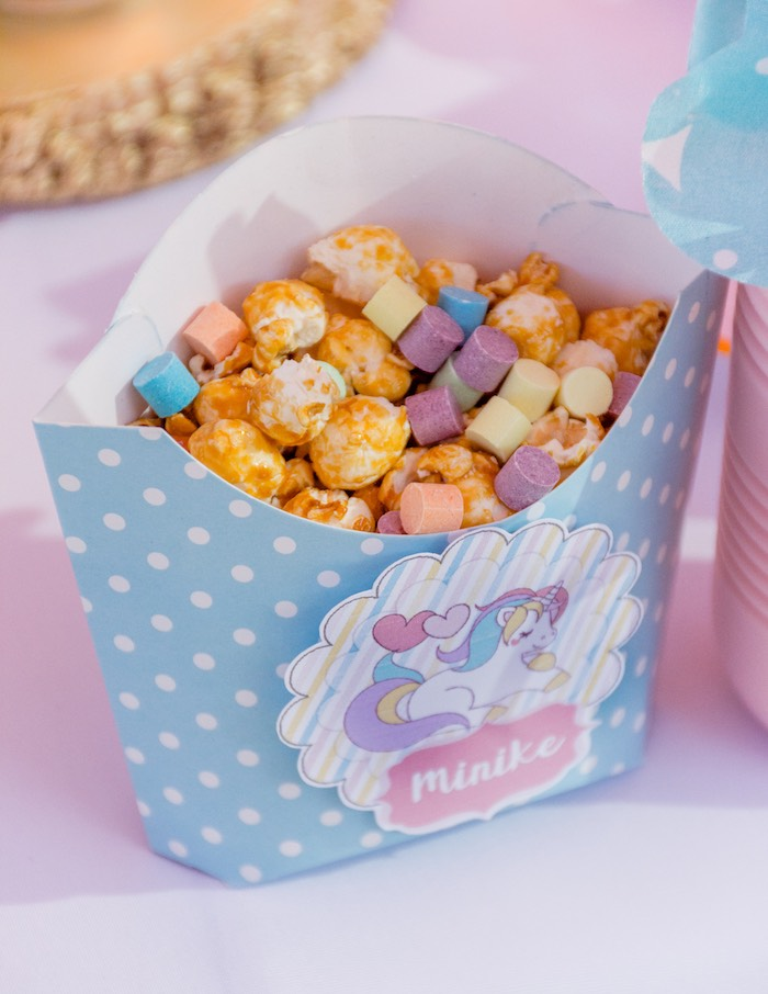 Unicorn Crunch from a Rainbows and Unicorns Birthday Party on Kara's Party Ideas | KarasPartyIdeas.com (34)