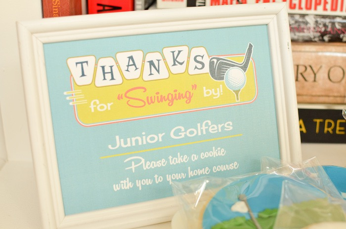Thanks for Swinging by Golf Party Print from a Retro Country Club + Golf Birthday Party on Kara's Party Ideas | KarasPartyIdeas.com (26)