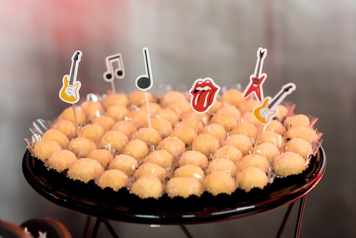 Rocker Sweet Toppers from a Rock 'n Roll Birthday Party on Kara's Party Ideas   KarasPartyIdeas.com (14)