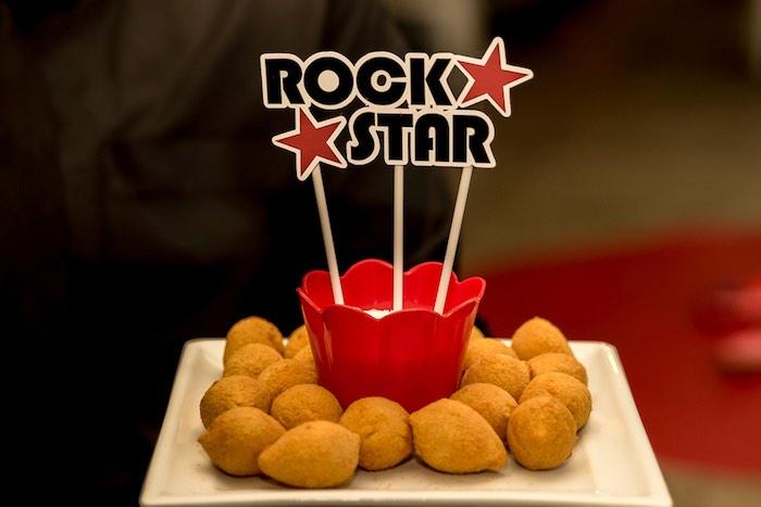 Rock Star Finger Food from a Rock 'n Roll Birthday Party on Kara's Party Ideas   KarasPartyIdeas.com (4)
