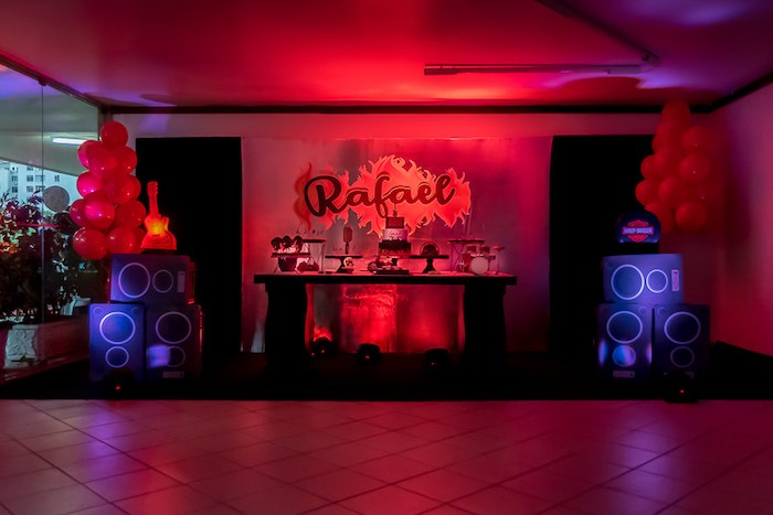 Rock 'n Roll Birthday Party on Kara's Party Ideas   KarasPartyIdeas.com (21)