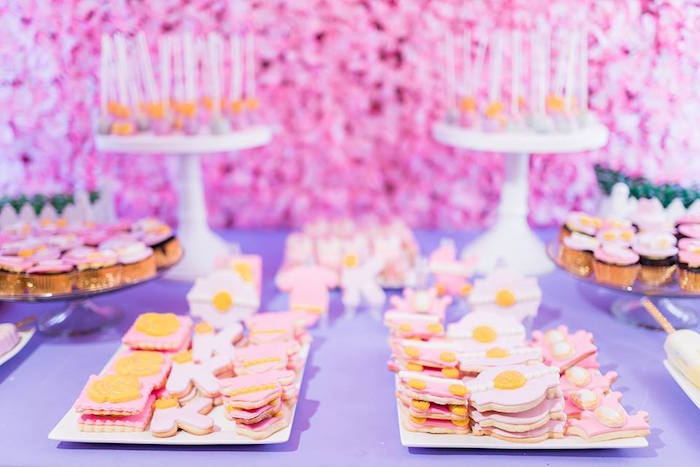 Royal Cookies from a Royal Princess Birthday Party on Kara's Party Ideas | KarasPartyIdeas.com (4)