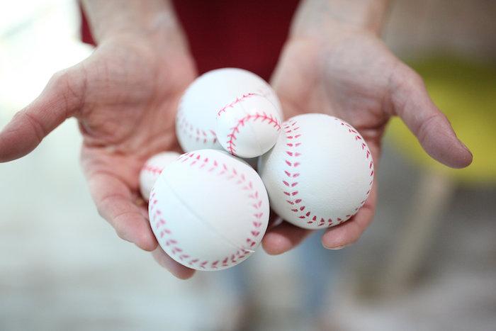 Baseballs from a San Francisco Giants Baseball Birthday Party on Kara's Party Ideas | KarasPartyIdeas.com (6)