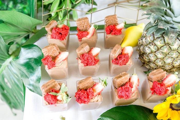 Fruit-topped Dessert Cups from a Summer Garden Baby Shower on Kara's Party Ideas | KarasPartyIdeas.com (43)