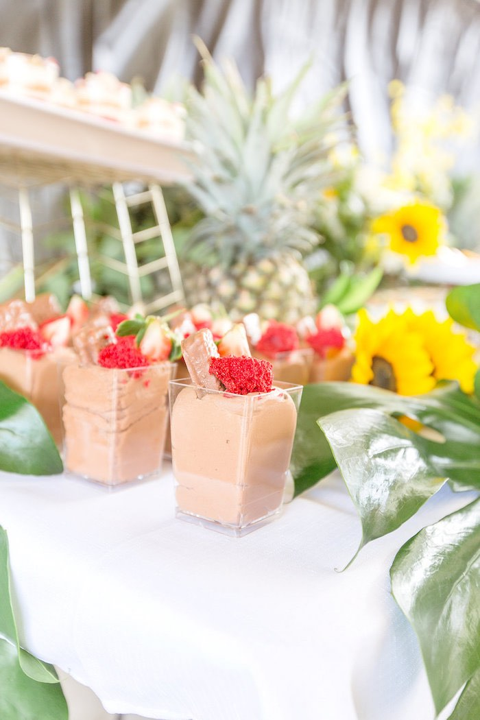 Fruit-topped Dessert Cups from a Summer Garden Baby Shower on Kara's Party Ideas | KarasPartyIdeas.com (42)