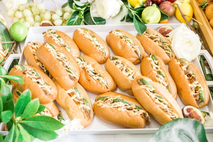 Sandwiches from a Summer Garden Baby Shower on Kara's Party Ideas | KarasPartyIdeas.com (24)