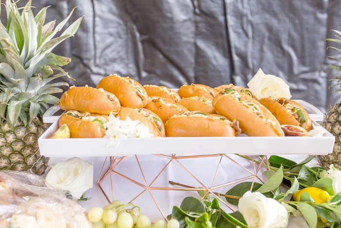 Sandwich Platter from a Summer Garden Baby Shower on Kara's Party Ideas | KarasPartyIdeas.com (50)