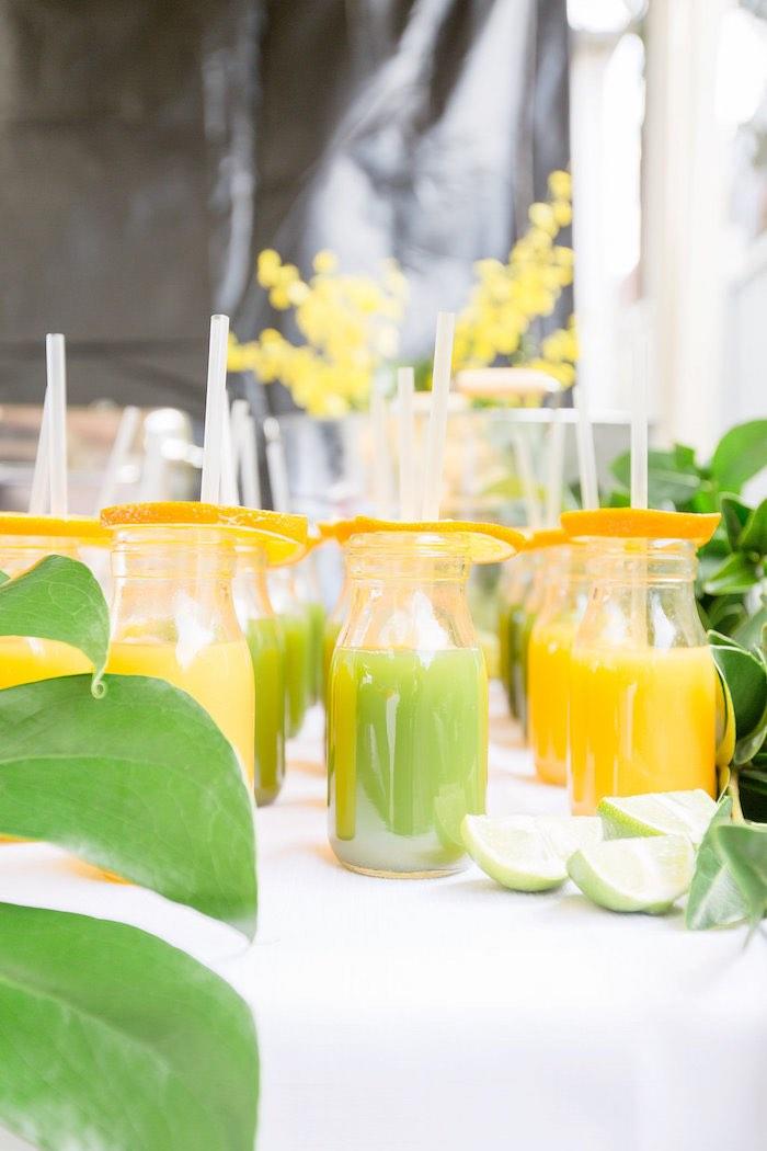 Juice Bottles from a Summer Garden Baby Shower on Kara's Party Ideas | KarasPartyIdeas.com (48)