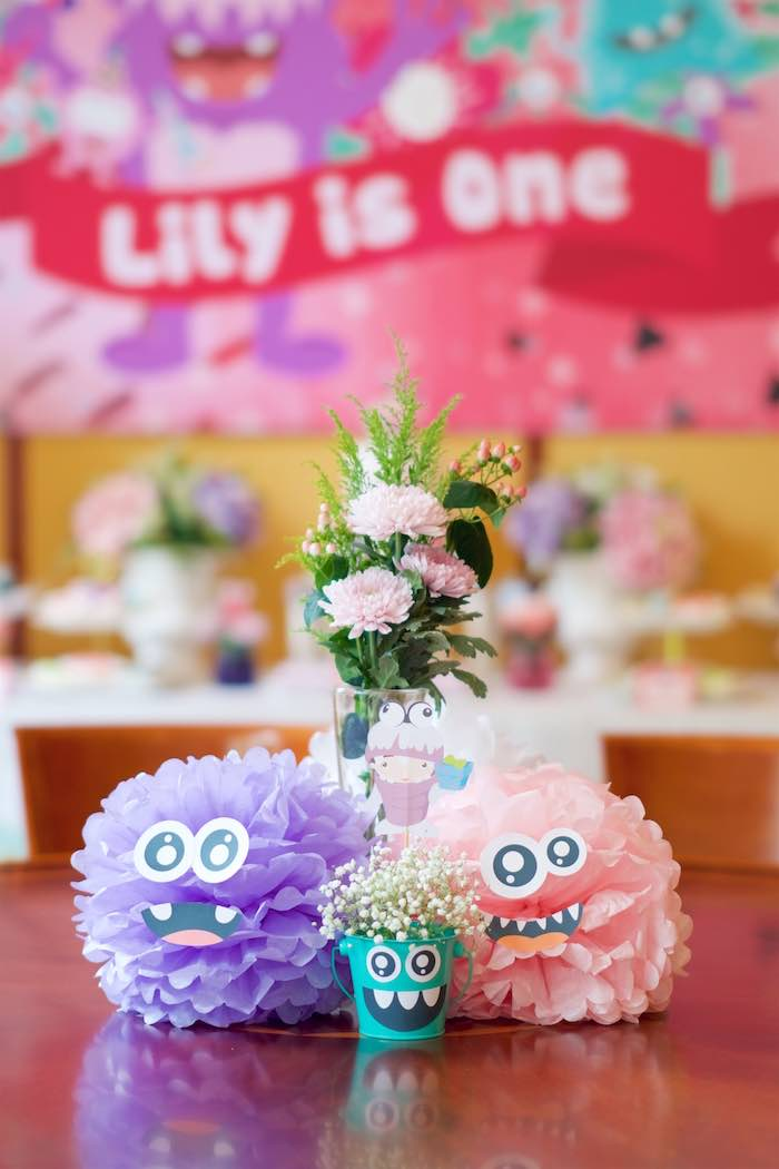 Monster Tissue Balls from a Sweet Monster Bash on Kara's Party Ideas | KarasPartyIdeas.com (12)