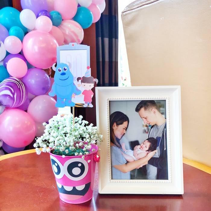 Monster Bloom Centerpiece from a Sweet Monster Bash on Kara's Party Ideas   KarasPartyIdeas.com (27)