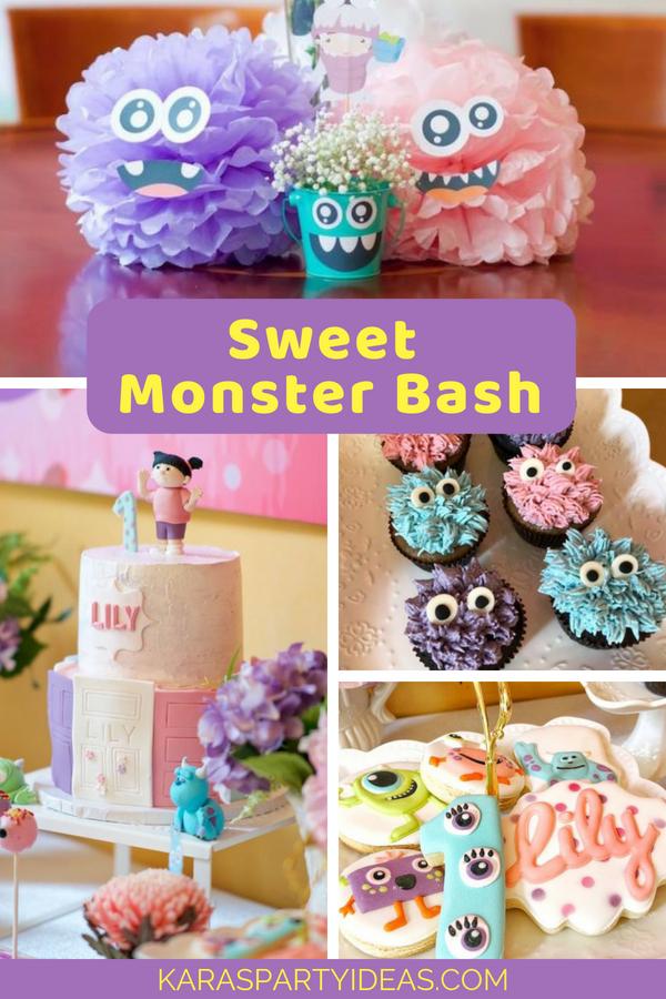 Sweet Monster Bash via Kara's Party Ideas - KarasPartyIdeas.com