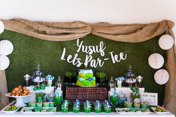 Tee-riffic Golf Birthday Party on Kara's Party Ideas | KarasPartyIdeas.com (8)