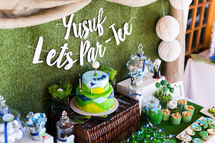 Tee-riffic Golf Birthday Party on Kara's Party Ideas | KarasPartyIdeas.com (6)