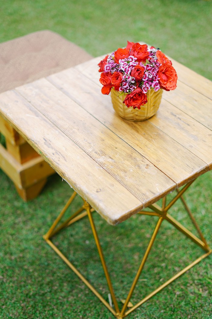 Modern Wood Table from The Greatest Showman Birthday Party on Kara's Party Ideas | KarasPartyIdeas.com (31)
