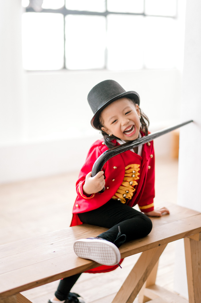 Little Ringmaster from The Greatest Showman Birthday Party on Kara's Party Ideas | KarasPartyIdeas.com (42)