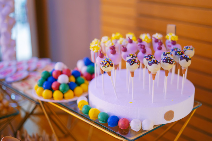 Sweet Table from The Greatest Showman Birthday Party on Kara's Party Ideas | KarasPartyIdeas.com (19)