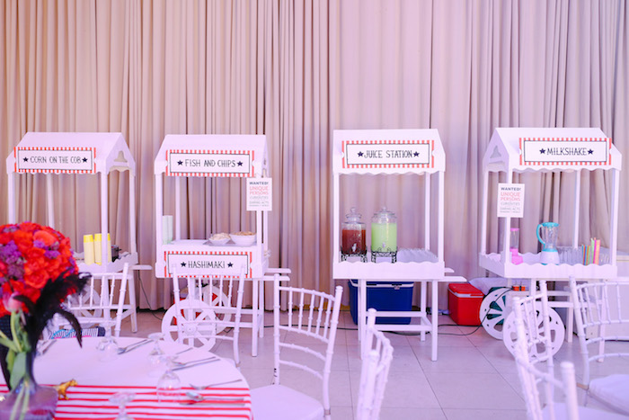 Food & Beverage Stands from The Greatest Showman Birthday Party on Kara's Party Ideas | KarasPartyIdeas.com (18)