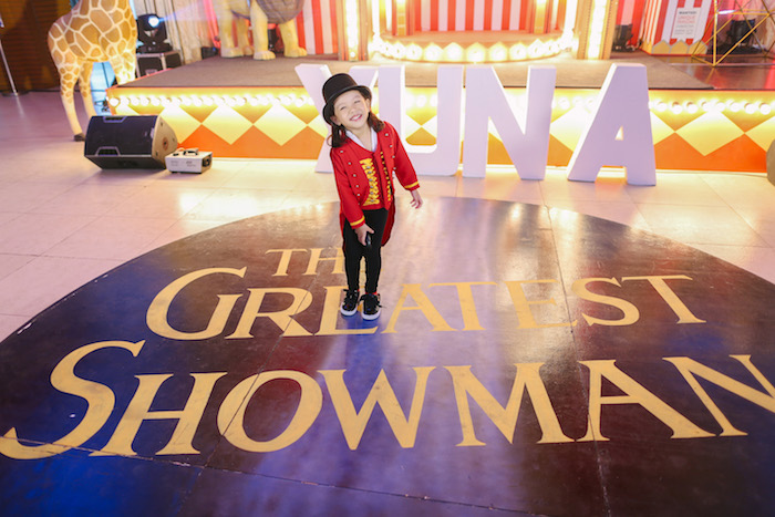 Greatest Showman Floor from The Greatest Showman Birthday Party on Kara's Party Ideas | KarasPartyIdeas.com (40)