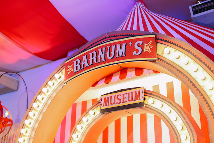 Barnum's Museum Stage from The Greatest Showman Birthday Party on Kara's Party Ideas | KarasPartyIdeas.com (38)