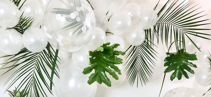 Tropical Chic Charcuterie Table on Kara's Party Ideas | KarasPartyIdeas.com (4)