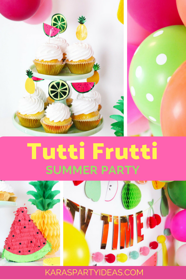 Tutti Frutti Summer Party via Kara's Party Ideas - KarasPartyIdeas.com (1)