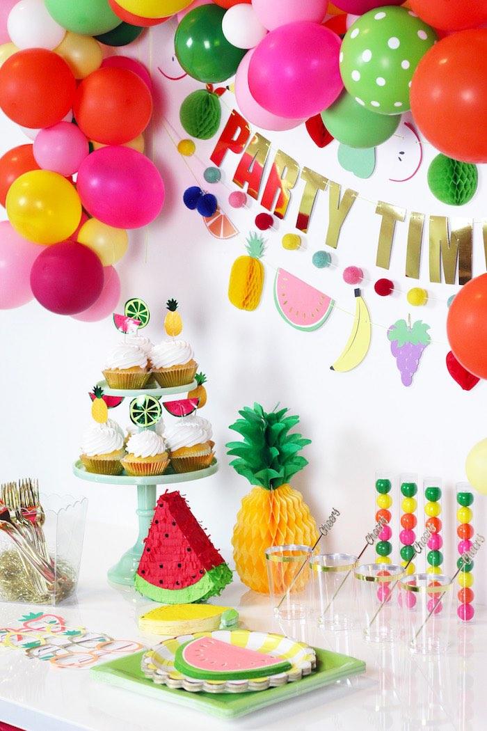 Tutti Frutti Summer Party on Kara's Party Ideas | KarasPartyIdeas.com (18)