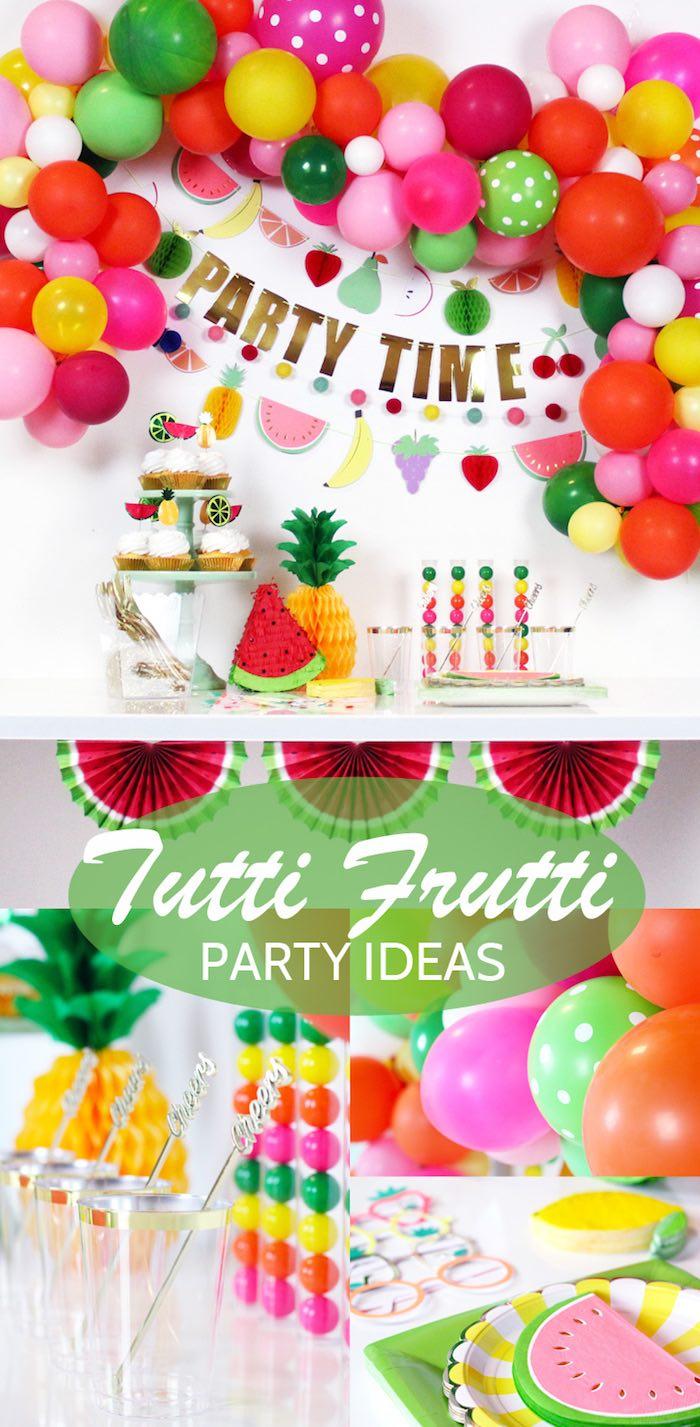 Tutti Frutti Summer Party on Kara's Party Ideas | KarasPartyIdeas.com (28)