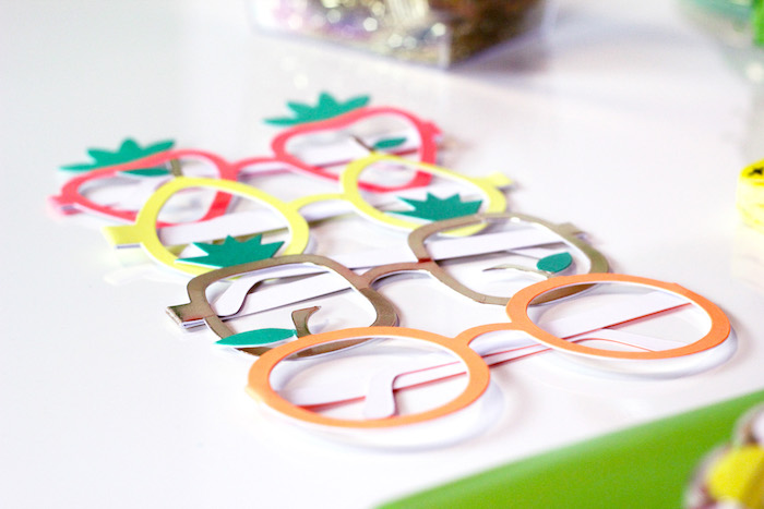 Fruit-inspired Glasses from a Tutti Frutti Summer Party on Kara's Party Ideas | KarasPartyIdeas.com (21)