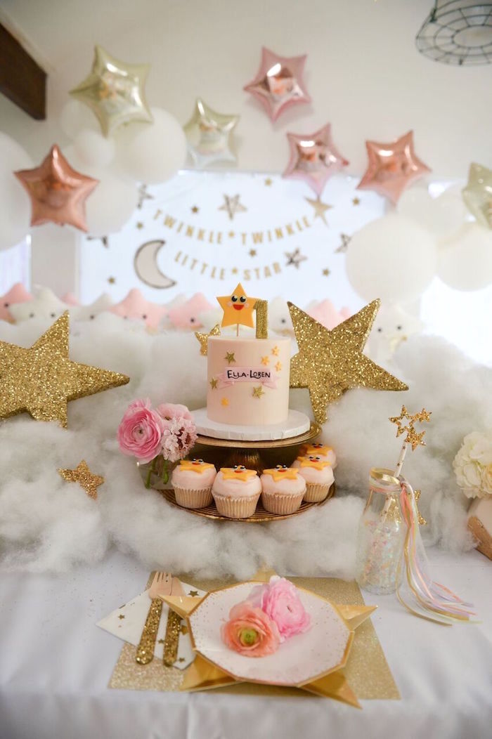 Kara S Party Ideas Twinkle Twinkle Little Star Birthday
