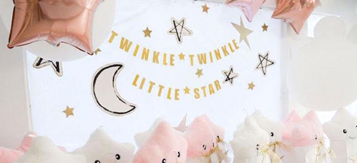Twinkle Twinkle Little Star Birthday Party on Kara's Party Ideas | KarasPartyIdeas.com (1)