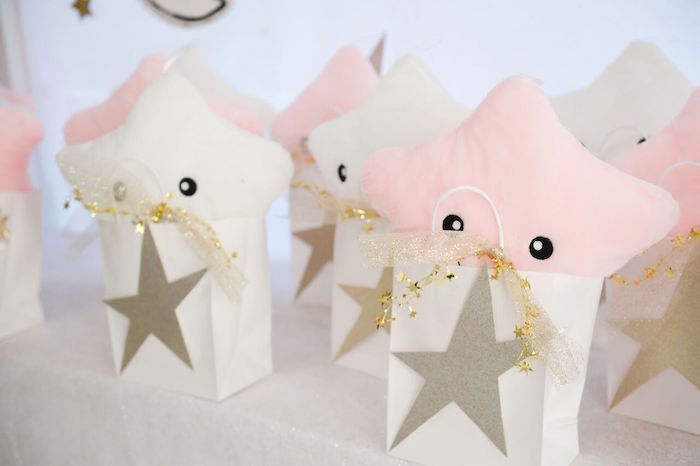 Star Themed Gift Bags from a Twinkle Twinkle Little Star Birthday Party on Kara's Party Ideas | KarasPartyIdeas.com (21)
