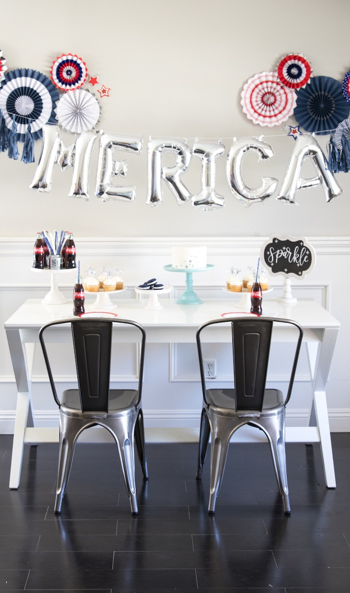An American Dessert Table from a #merica July 4th Party via Kara's Party Ideas | KarasPartyIdeas.com (11)