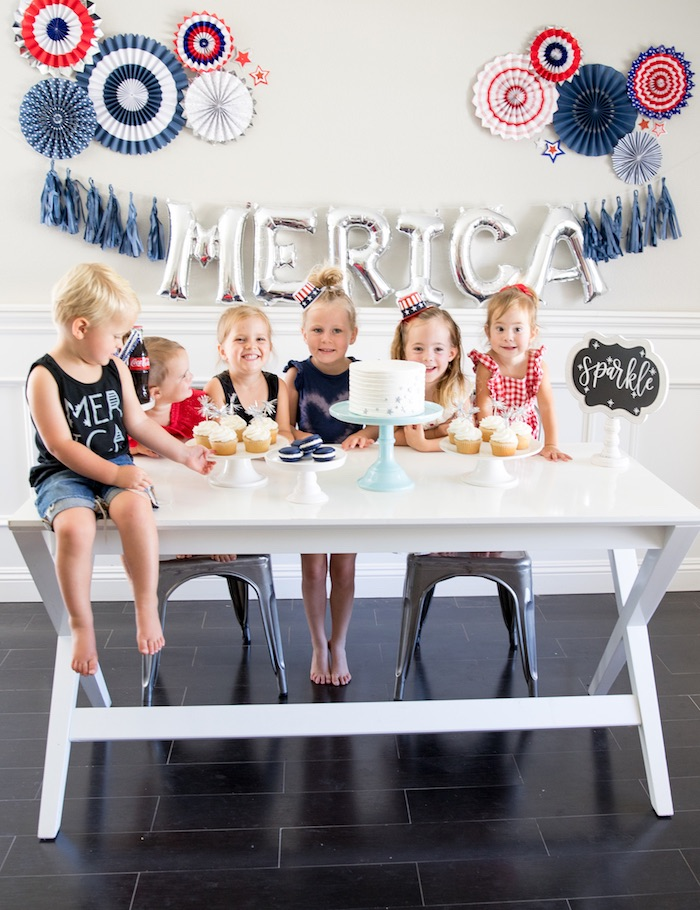 #merica July 4th Party via Kara's Party Ideas | KarasPartyIdeas.com (9)