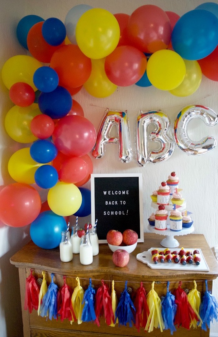 Back to School Party on Kara's Party Ideas | KarasPartyIdeas.com (6)