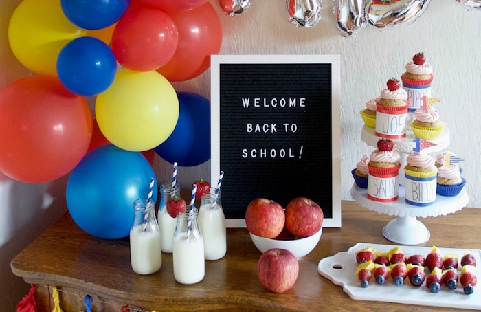 Back to School Party on Kara's Party Ideas | KarasPartyIdeas.com (5)