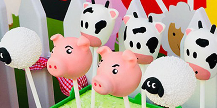 Barnyard Farm Birthday Party on Kara's Party Ideas | KarasPartyIdeas.com (3)