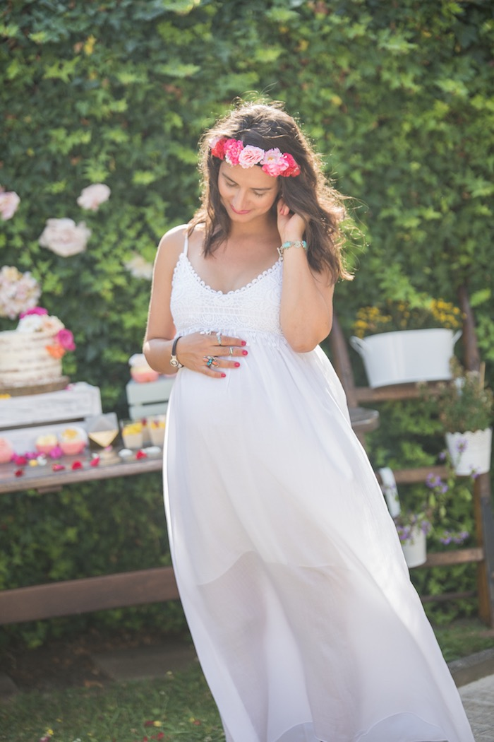 Bohemian Baby Shower on Kara's Party Ideas | KarasPartyIdeas.com (18)