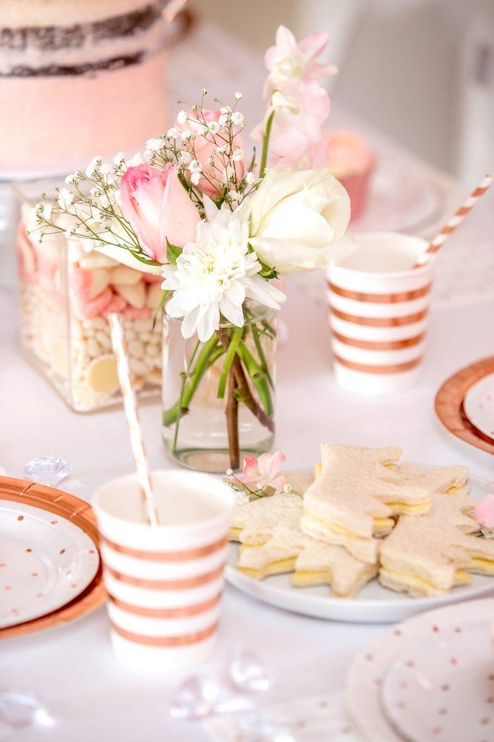 "Boho Princess ""You're a Gem"" Birthday Party on Kara's Party Ideas | KarasPartyIdeas.com (14)"