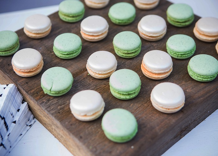 Macarons from a Boho Tribal Wild One 1st Birthday Party on Kara's Party Ideas | KarasPartyIdeas.com (19)