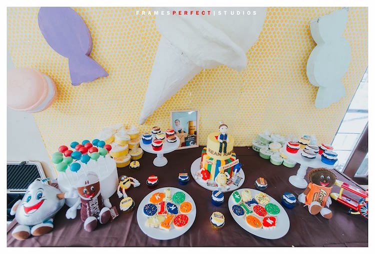 Candy-inspired Dessert Table from a Chocolate Candyland Birthday Party on Kara's Party Ideas | KarasPartyIdeas.com (10)