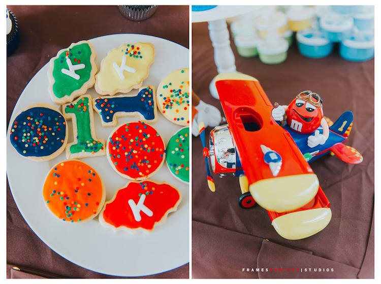 Cookies from a Chocolate Candyland Birthday Party on Kara's Party Ideas | KarasPartyIdeas.com (9)