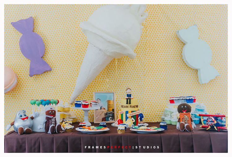 Dessert Table from a Chocolate Candyland Birthday Party on Kara's Party Ideas | KarasPartyIdeas.com (5)